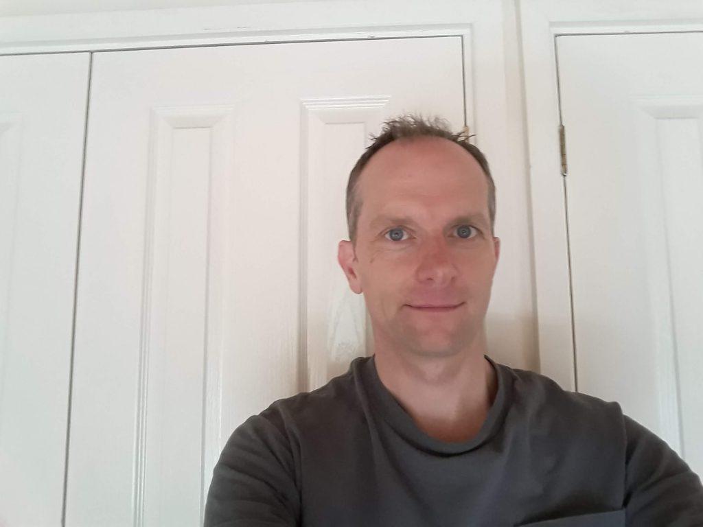 A male taking a selfie